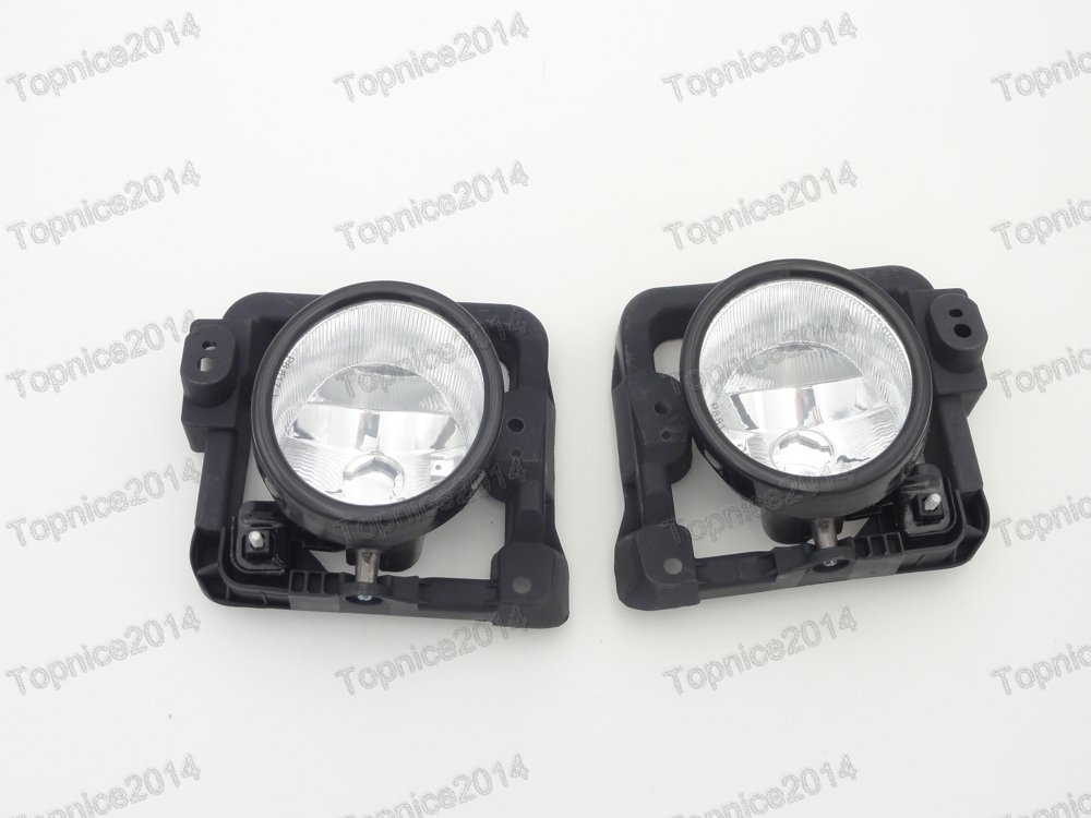 1Pair High Quality Front fog lights halogen fog lamps For Honda Accord 2009-2010 high quality fog lights lamps safety fog light fit for toyota yaris 2009 2010 2011 with clear lens pair set wiring kit