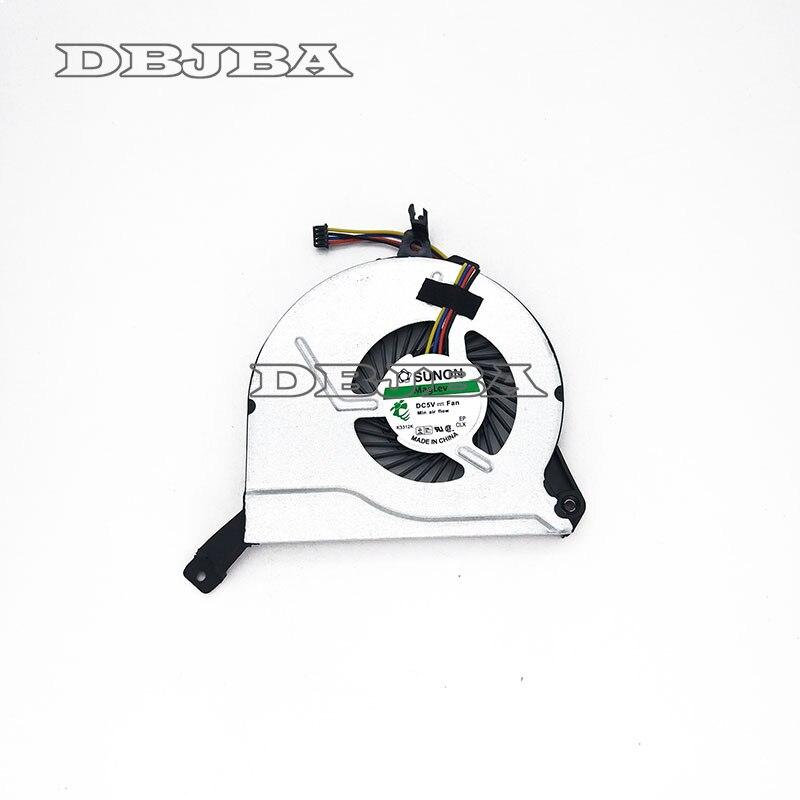 Véritable Nouveau DFS200405040T 767776-001 767712-001 47Y14TP203A Pour HP 14-P 15-P 16-P 17-P 14-V 15-V 16-V 17-V Refroidisseur ventilateur