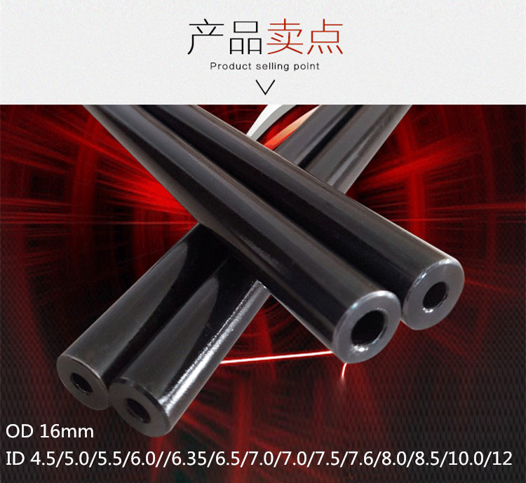 OD 16mm Hydraulic 40cr chromium-molybdenum alloy precision steel tubes seamless steel pipe explosion-proof pipe long 50cm