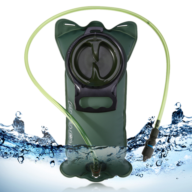2l Waist Water Bag Military Cycling Water Pipe Bag Sports Water