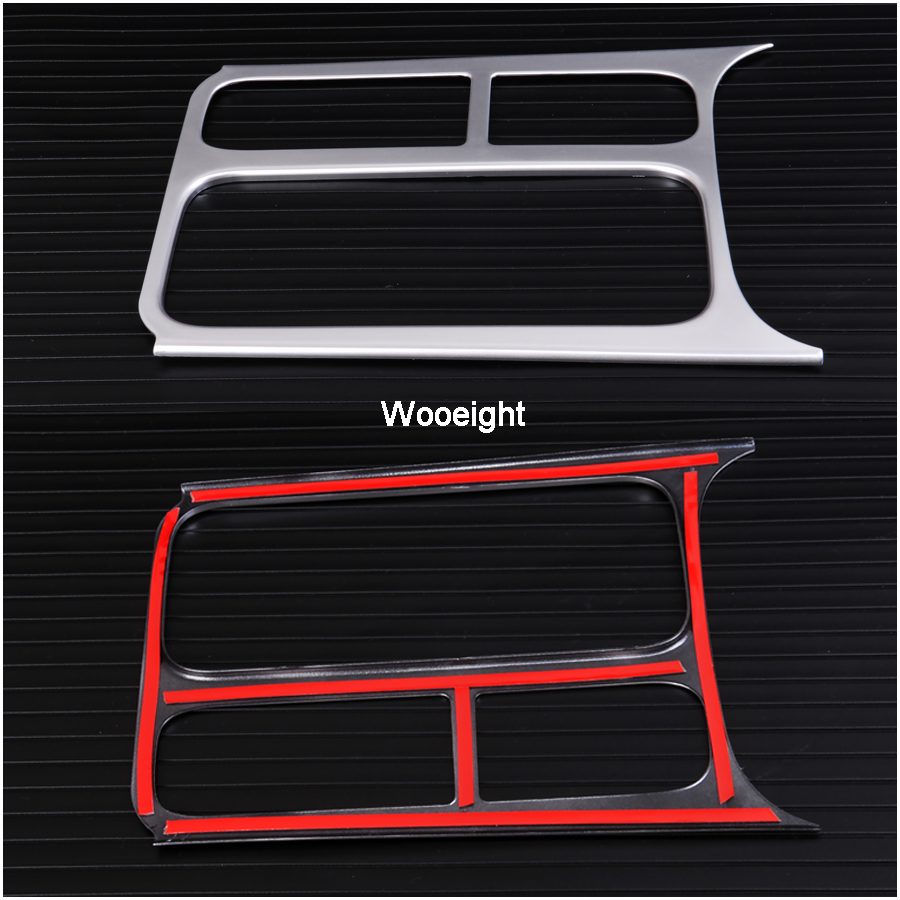 Car Interior Accessories ABS  Brake Cup Holder Panel Trim Cover Decoration For VW Volkswagen Tiguan 2012 2013 2014 2015 (7)