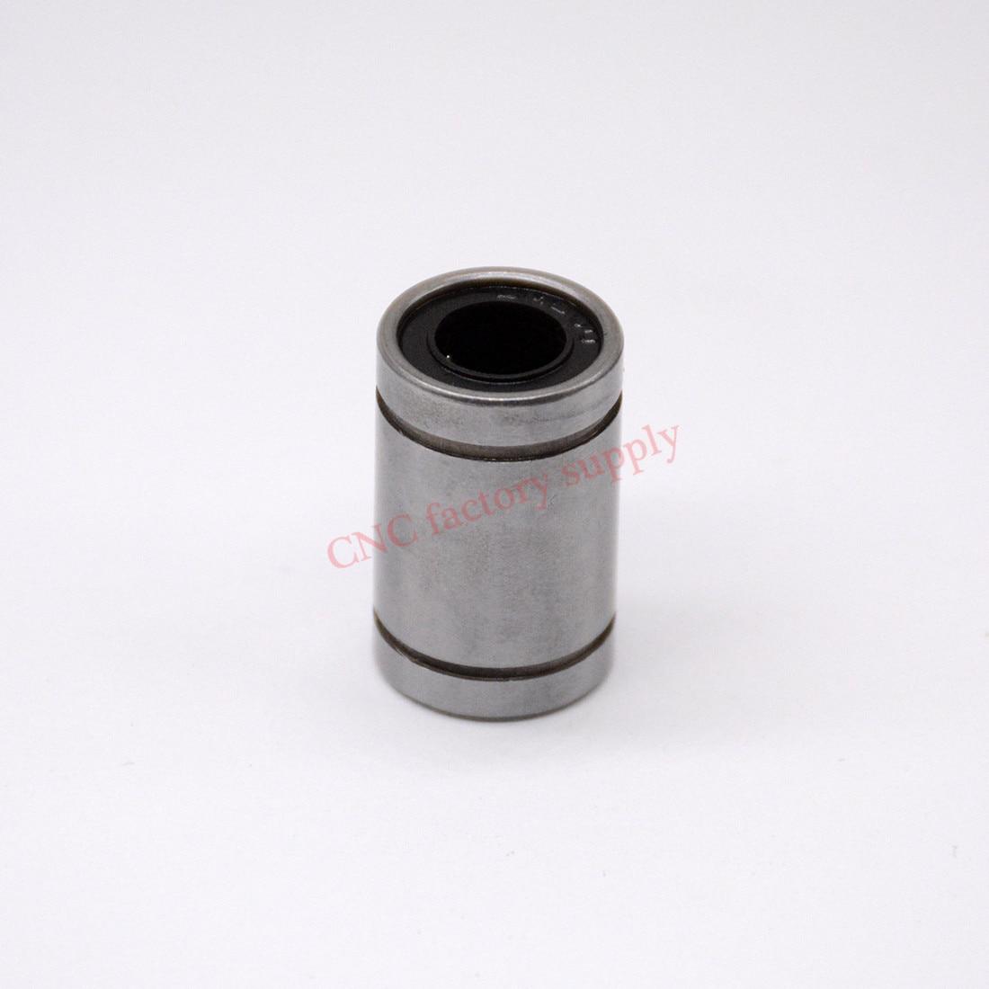 Hot sale  1pc LM10UU Linear Bushing  10mm CNC Linear Bearings hot sale 1pc lm12uu linear bushing 12mm cnc linear bearings