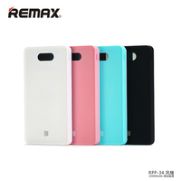 REMAX RPP 34 Polymer18650 Portable USB Power Bank 10000mAh 2USB External Battery Backup For IPhone6S Samsung