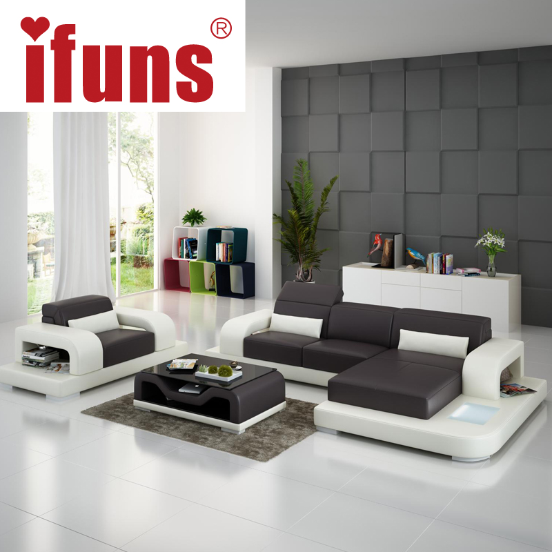 Gallery White Leather L Shaped Sofa: Aliexpress.com : Buy Large L Shaped Sofa White Leather