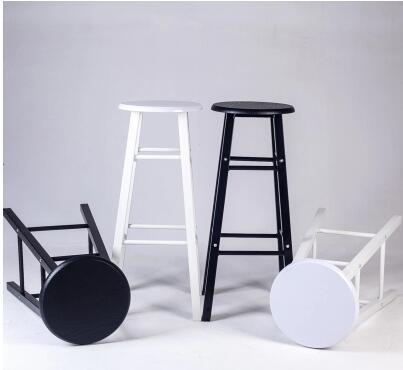 Iron bar chair. The foot stool. Long leg bar chairs. american bar chair the foot stool front desk chair coffee chair