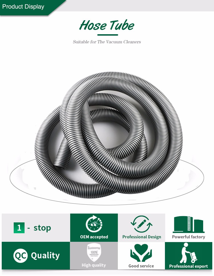 5m Inner Diameter 28mm GRAY High Temperature Flexible EVA Hose of Vacuum Cleaner supply equipment of drainage/irrigation vacuum pump inlet filters f007 7 rc3 out diameter of 340mm high is 360mm