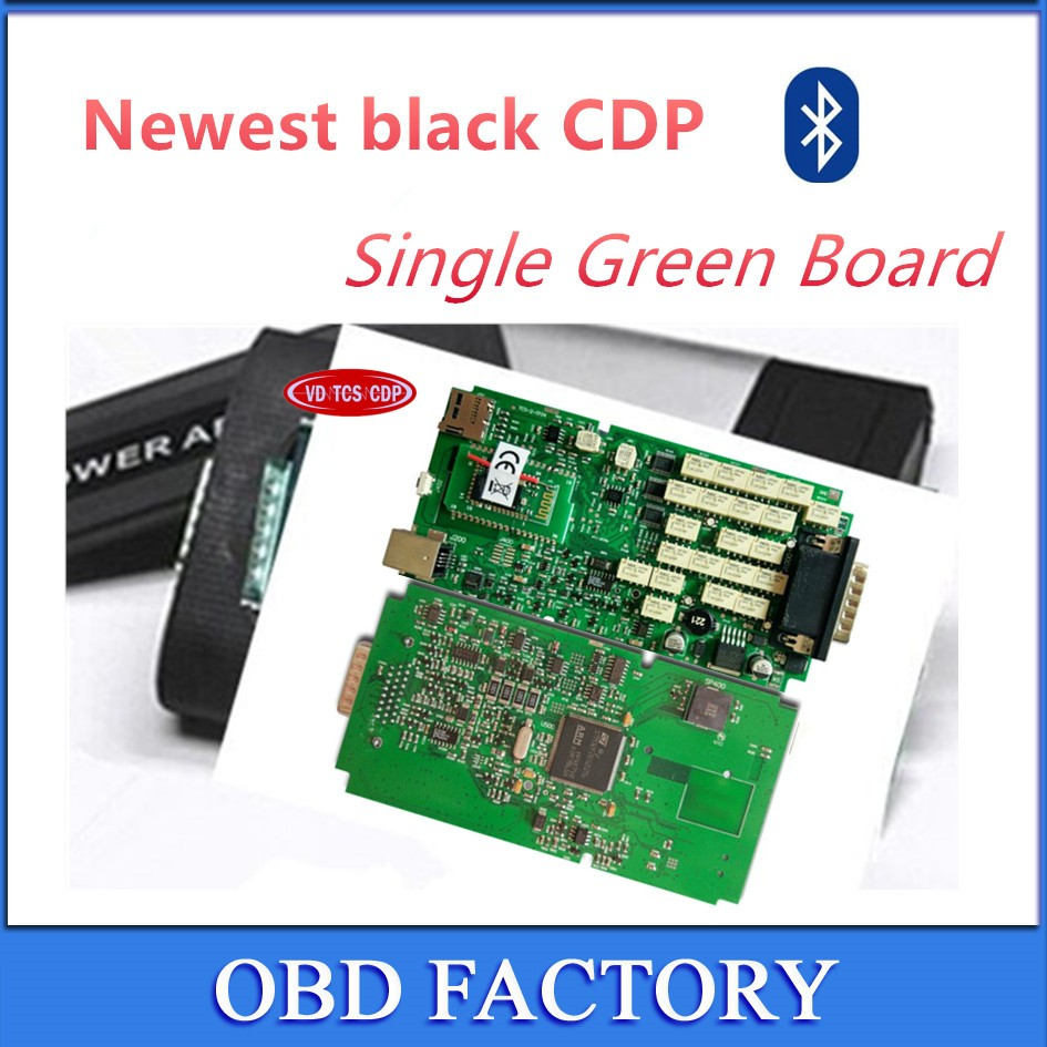 Цена за Последнюю версию программного обеспечения 15R3 с Keygen! + + качество одной Зеленый доска VD TCS CDP Pro Plus с Bluetooth