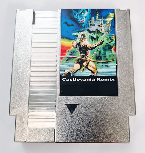 CASTLEVANIA REMIX 42 in 1 Game Cartridge for NES Console недорго, оригинальная цена