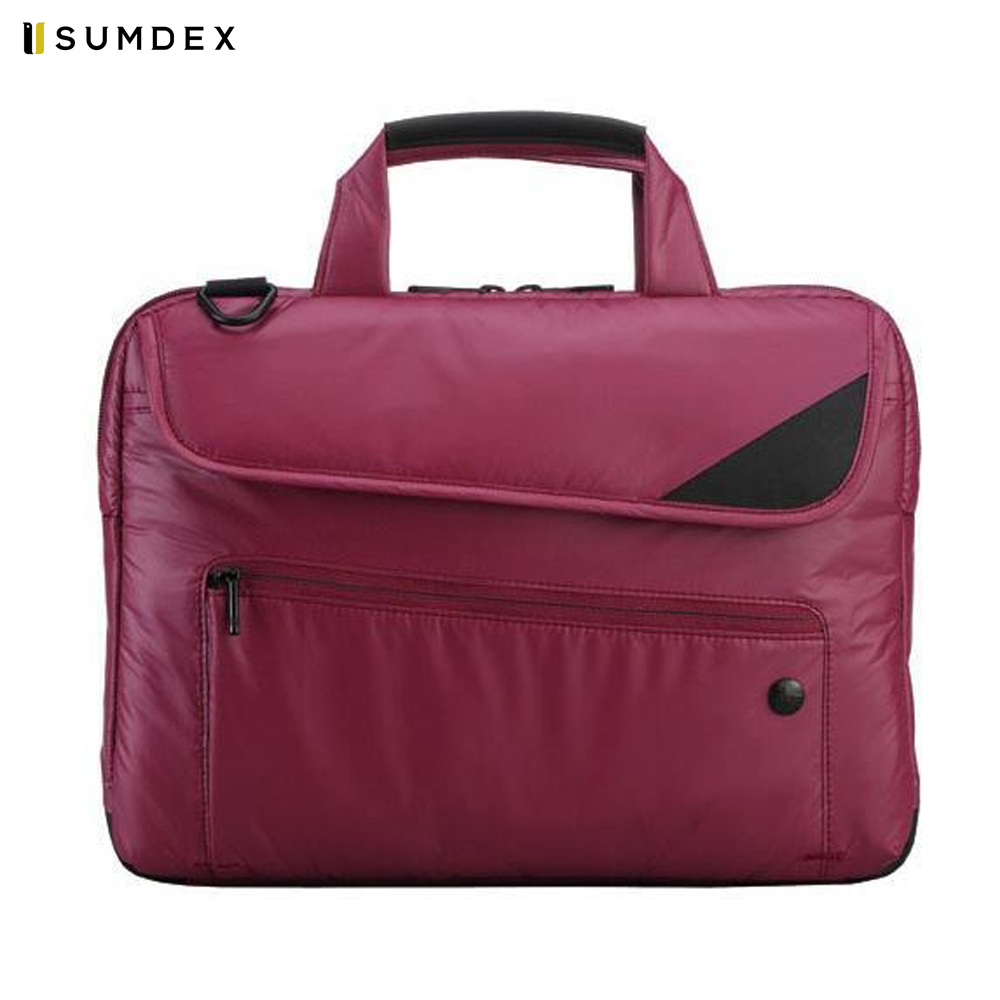 Фото - Laptop Bags & Cases Sumdex SUMNRN235AM for laptop portfolio Accessories Computer Office for male female 2017 hot handbag women casual tote bag female large shoulder messenger bags high quality pu leather handbag with fur ball bolsa