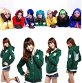 attack on titan hoodie Sweatshirt  Vocaloid Matryoshka miku Len Rin Gumi Cosplay Costume Sweatshirt with hood Women Jacket Coat