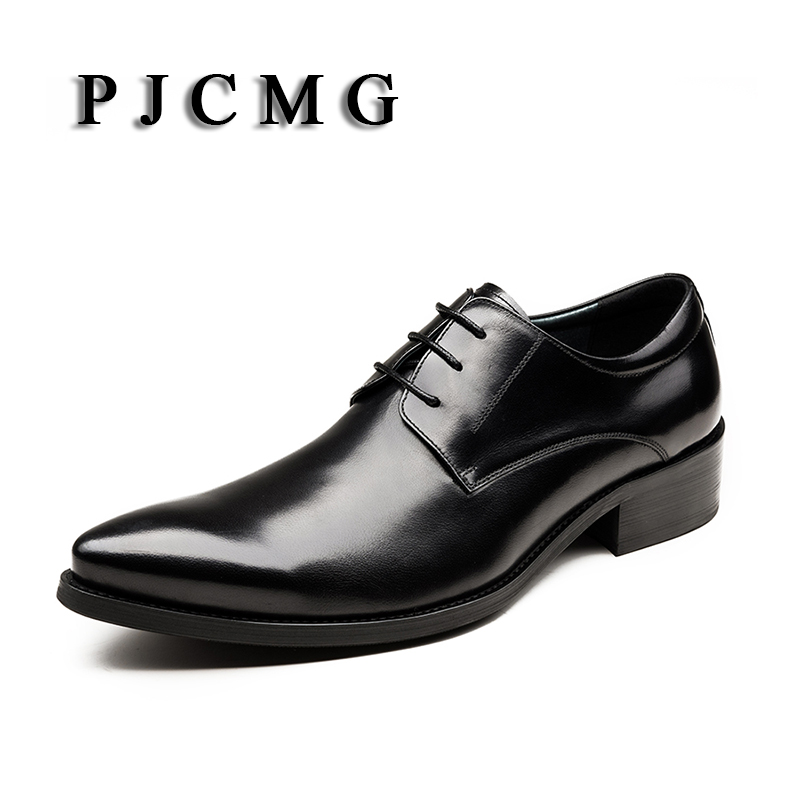 High Quality Men Oxfords Shoes British Style Carved Genuine Leather Brogue Lace-Up Bullock Business Men's Flats Wedding Shoes high quality men s shoes genuine leather british style mens loafers lace up business men oxfords shoes wedding dress flats shoes