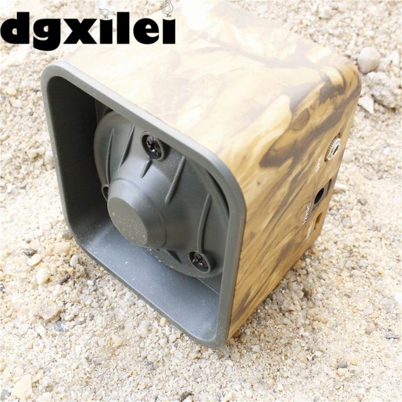 50W 150dB DC 12V Outdoor Hunting Bird Predator Decoy Caller Speaker outdoor bird decoy caller 50w 150db dc 12v speaker hunting bird mp3 player bird caller remote control