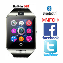 2016 New Bluetooth Smart Watch Waterproof Apro font b Smartwatch b font Support NFC SIM Card