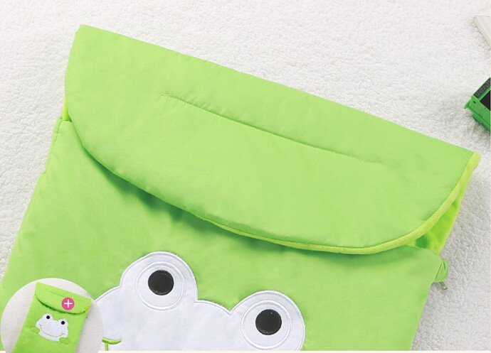 Frog Newborn Sleeping Bag Sleeping Bag Winter Stroller Bed