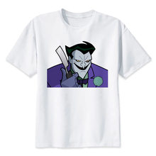 the joker t shirt Men casual short T-Shirts Fashion Print T-Shirts Short Sleeve O Neck Tees MMR493(China)