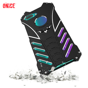 Image 1 - Huawei Honor 10 Case Aluminum Metal Shockproof Phone Case on for Fundas Huawei Honor 10 Honor10 Armor Protection Case Cover Men