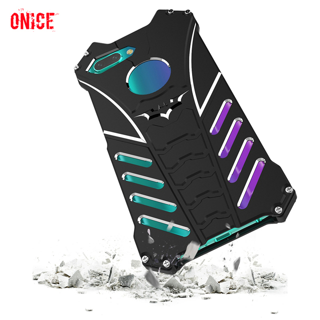Huawei Honor 10 Case Aluminum Metal Shockproof Phone Case on for Fundas Huawei Honor 10 Honor10 Armor Protection Case Cover Men