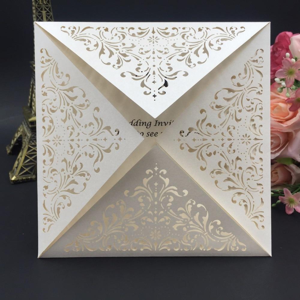 Wedding Laser Cut Invitations: New Fashion Style Wedding Laser Cut Invitation Card Custom