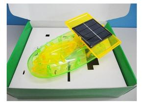 Солнечная игрушка космическая модель корабля мощная ed игрушка DIY Набор для автомобиля детская развивающая игрушка солнечная энергия