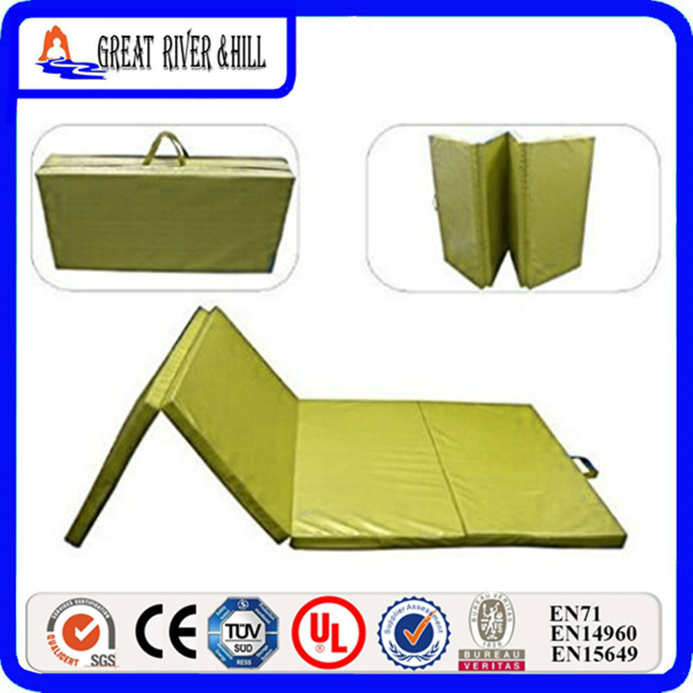 Hottest Folding foam 3cm Gymnastics crash landing mats 2.4mx1.2mx3cm water blue epe foam folding gym mats 2 4mx1 2mx3cm gymnastics mat