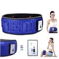 5 Motors Electric Heat Function Fat Vibration Slimming Massage Belt Lose Weight Machine Wrist Slimming Shape Slim Belt Effective