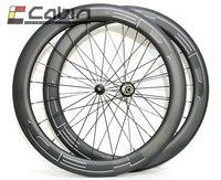 Большая распродажа, 60 мм клинчер/трубчатый HED шоссейный велосипед карбоновое колесо, 700C 23 мм ширина шоссейный велосипед карбоновая колесная