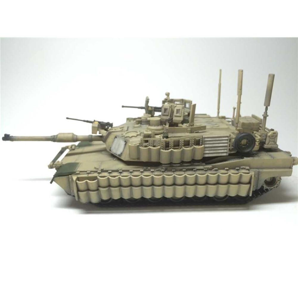 OHS Tiger Model 9601 1/72 US M1A2 Tusk II Abrams US Main Battle Tank AFV Assembly Model Building Kits oh ohs tamiya 35326 1 35 u s main battle tank m1a2 sep abrams tusk ii military assembly afv model building kits