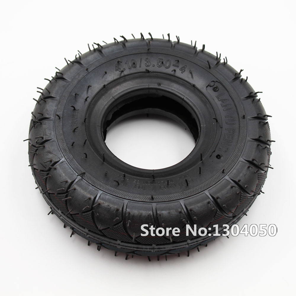 4.10 X 3.50 - 4 BIG FOOT 4.10/3.5-4 FOR GOPED BIGFOOT TIRE TYRE TORNADO COBRA SCOOTER page turners 4 bigfoot
