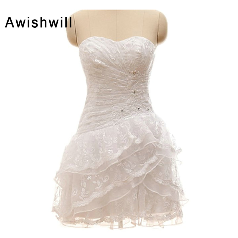 Real Picture White Cocktail Dresses Lace Corset Back Sexy Short Robe De Cocktail Beaded Draped Homecoming Dress 2019