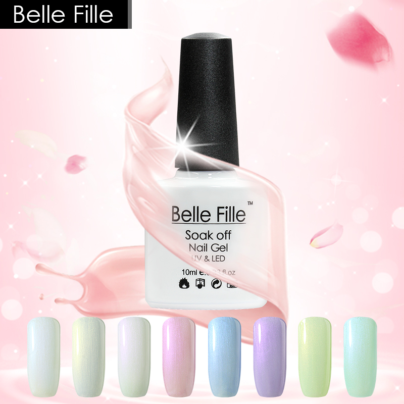 Belle Fille Shell 10мл Shell Gel Nail Polish 12 - Маникюр - фото 1