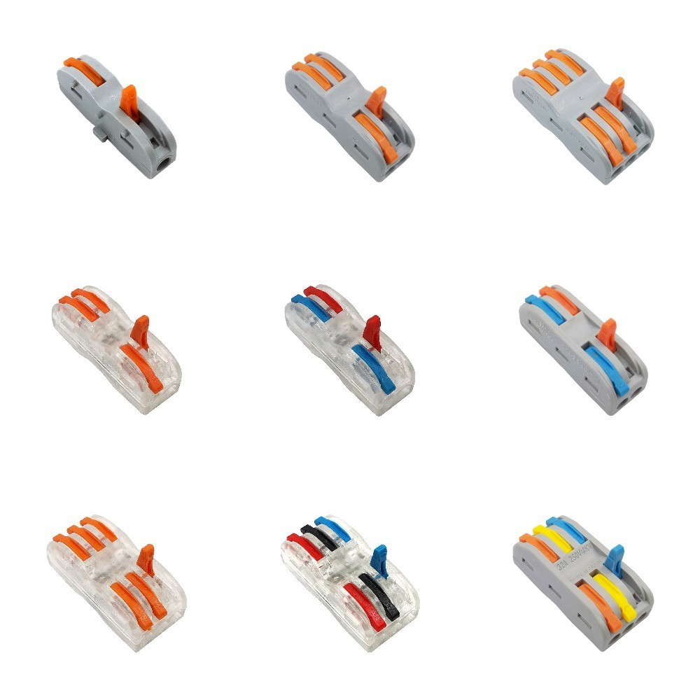 50/100Pcs Wire Connector terminal WAGO mini fast Connectors,Universal Compact cable Connector SPL-1 SPL-2 SPL-3 Terminal Block50/100Pcs Wire Connector terminal WAGO mini fast Connectors,Universal Compact cable Connector SPL-1 SPL-2 SPL-3 Terminal Block