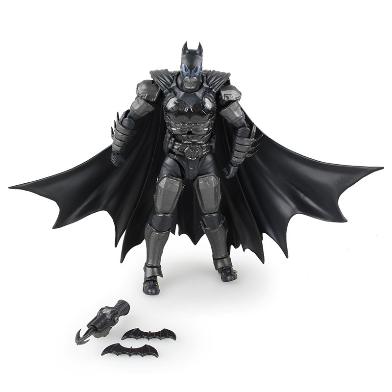 ZXZ 17cm Movable Figurine American Injustice League BatMan PVC Action Figure Collection Decoration Toy Doll Model Gift free shipping 6 comics dc superhero shfiguarts batman injustice ver boxed 16cm pvc action figure collection model doll toy