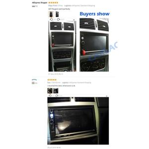 Image 5 - car frame for Universal 2 Din auto radio / android player Frame Retrofitting decorative framework 178 x 102mm panel No gap