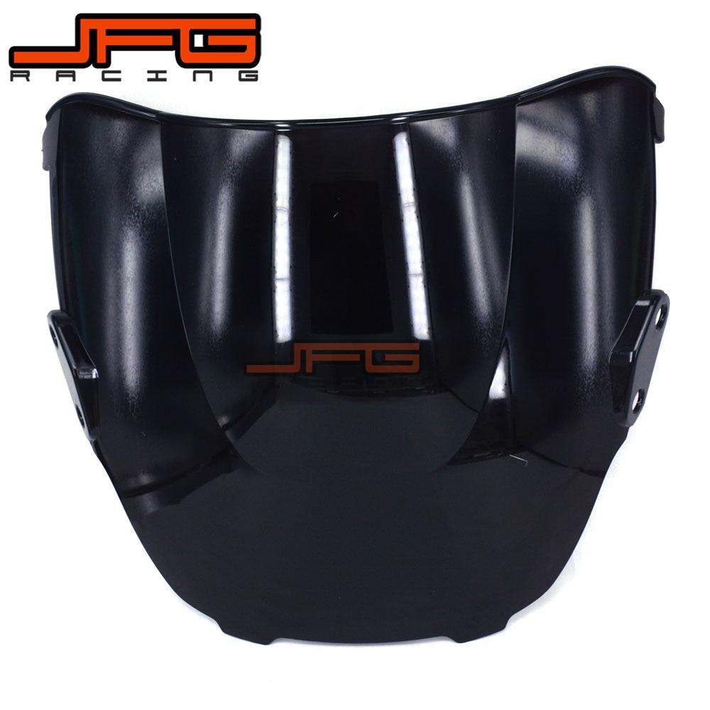 Black Windscreen Windshield for Honda CBR600 F3 CBR600F3 1995-1998 1995 1996 1997 1998 Motorcycle прокладки клапанной крышки honda vtr1000f