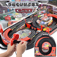 In Stock Hot Sale Electric RC Track Sets For Kids Gift Toy Railway Tracks Cars Parent Child Interaction Remote Control Rail Car