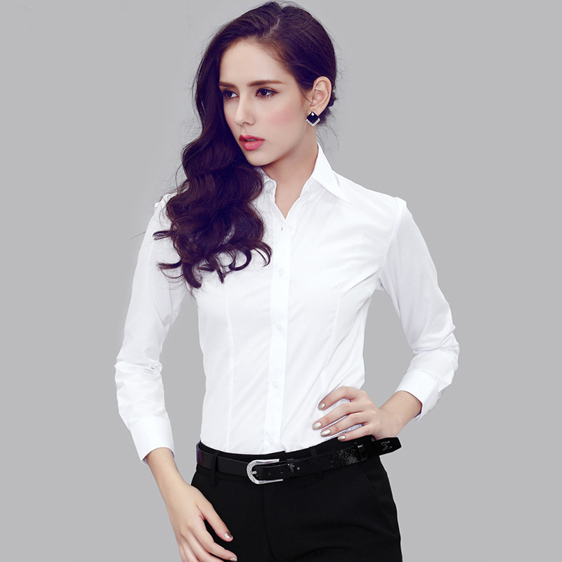 2015 new Korean women OL long sleeve office lady women blouse ...