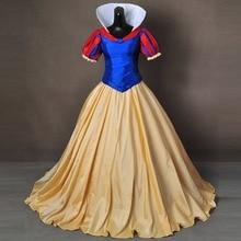 Костюм Белоснежки для взрослых; женские костюмы на Хэллоуин; костюм Снежной Королевы; вечерние платья принцессы