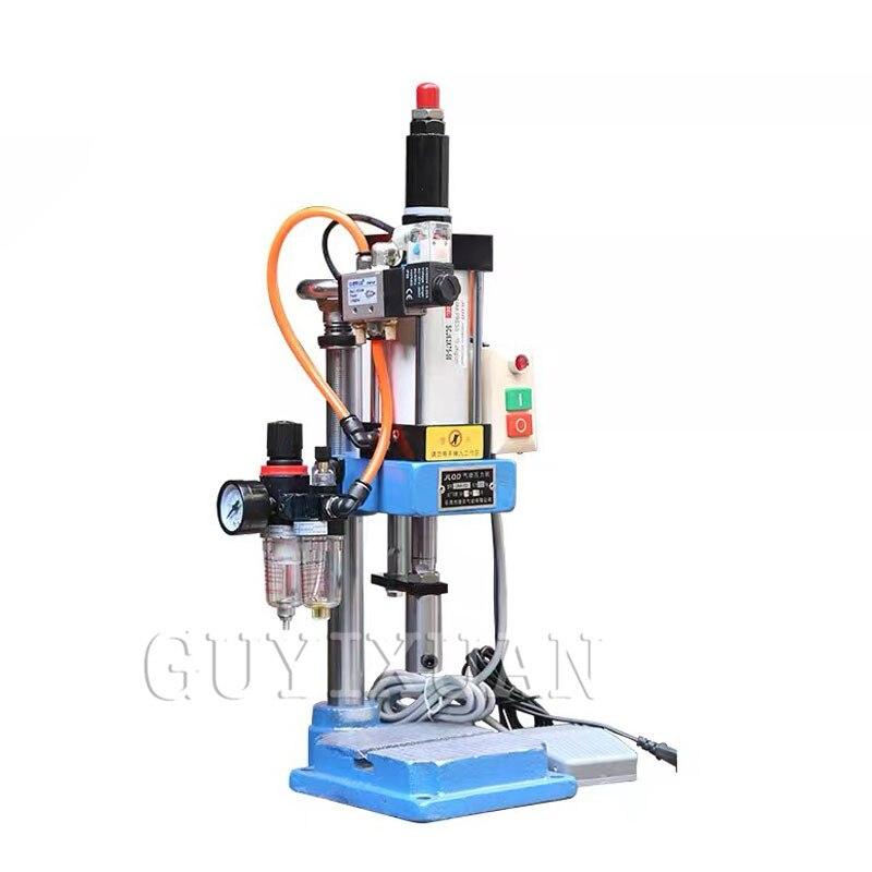 JNA50 kleine einzelne spalte pneumatische presse 110 / 220V pneumatische stanzen maschine einstellbaren kraft 200KG pneumatische stanzen machin