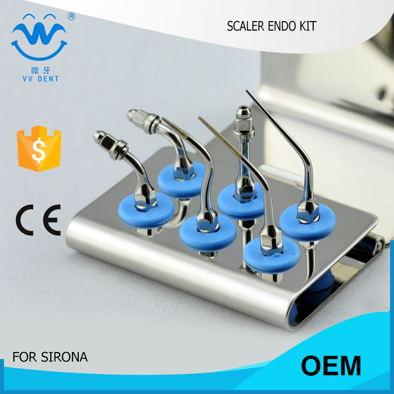 1 pcs SREKS Sirona dental endodontics set fit PerioSonic Sirosonic SIROSON dentist teeth cleaner by wholesale dental tools 2 sets seks satelec endosuccess kit for dental endodontics treatment fit gnatus nsk hu friedy and woodpecker dte scalers