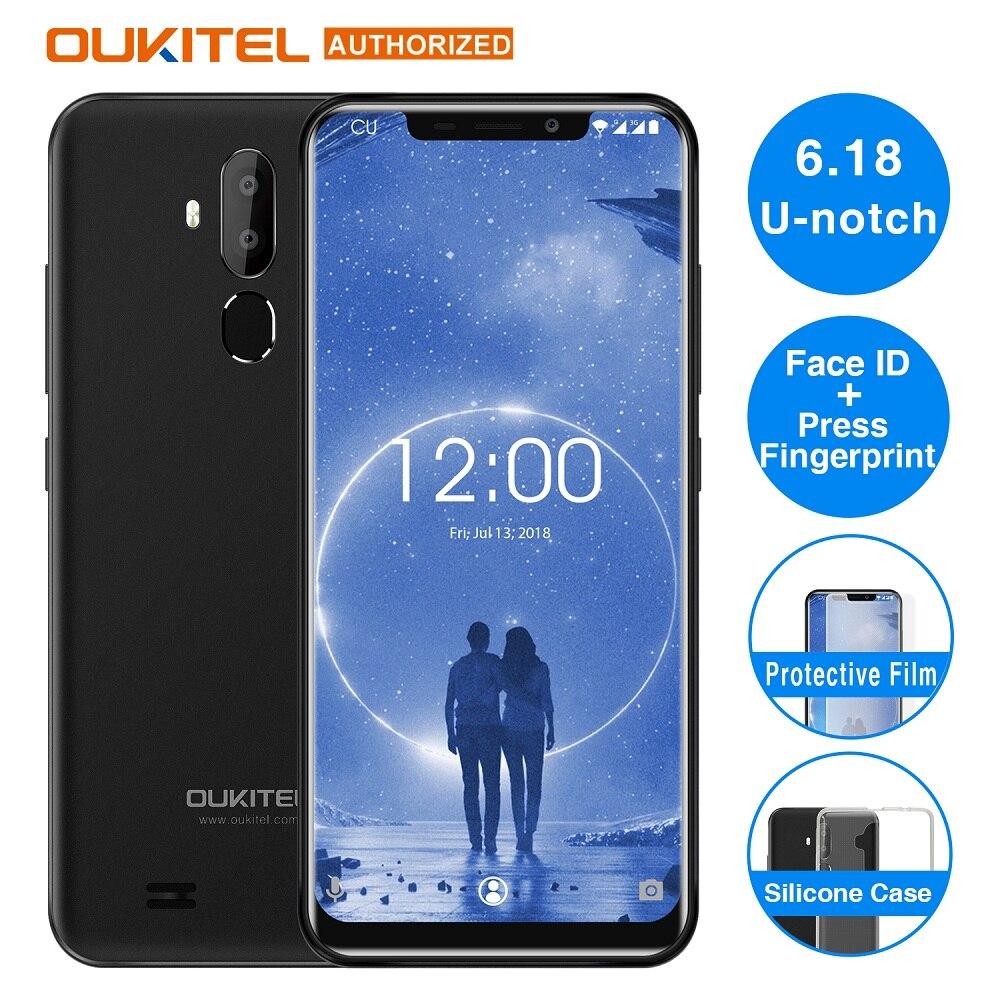 OUKITEL C12 Face ID 3G Smartphones 6.18