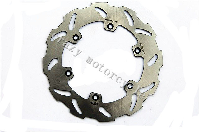 Free shipping Motorcycle Brake Disc Rotor fit for Suzuki RM125 RM250 1988-1989 DRZ 400E 2000-2008 DRZ 400S 2000-2009 Rear