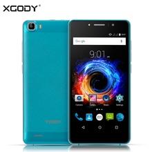 XGODY M12 Smartphone 5.5 Pouce Android 5.1 MTK6580 Quad Core 1 GB + 8 GB 8MP 1280*720 HD IPS 3G Dual SIM Mobile Téléphone Telefon Celular