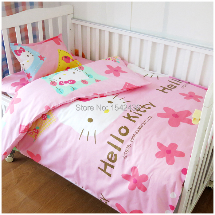 Baby Crib Bedding Set Material Cotton High Quality Soft