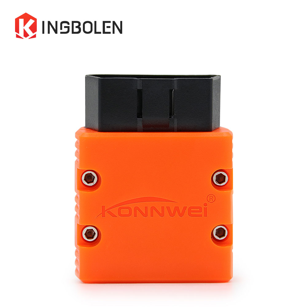 Super MINI ELM327 KONNWEI KW902 Bluetooth V1.5 OBDOBDII Code Reader ELM 327 Diagnostic Tool Works on Android PC 16Pin kw902