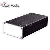 Douk Audio Full Aluminum Chassis Long Strip Type Amplifier Enclosure Box Cabinet