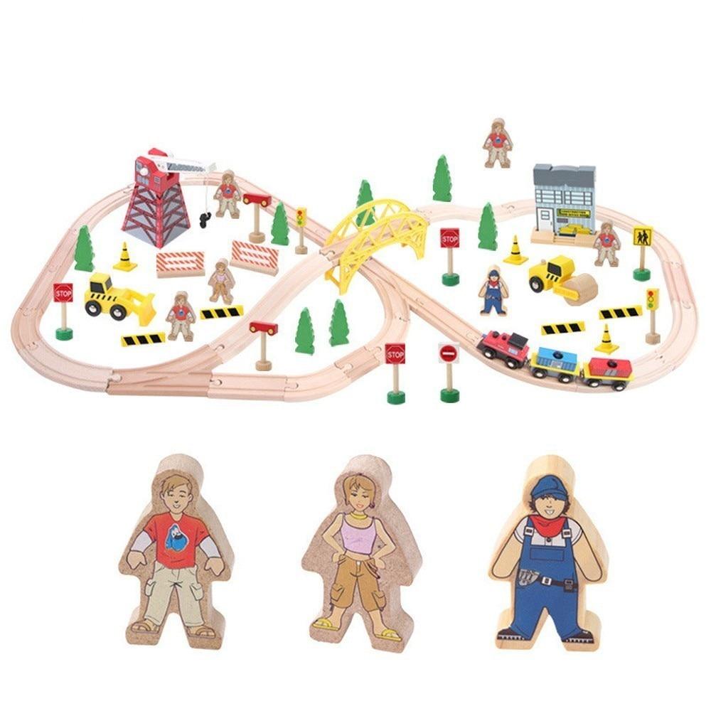 2018 Diecasts игрушечных автомобилей детские игрушки поезд Thomas игрушечные модели автомобилей деревянные головоломки здание слот железнодорожны
