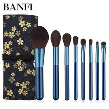 цены Makeup Brush Set Professional Fashion 8pcs Make up Brushes Kits Cosmetic tools Kit