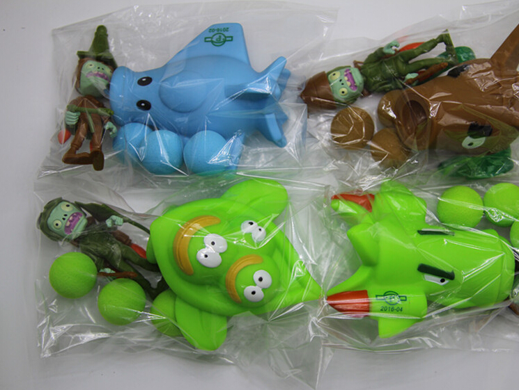 PVZ Plants vs Zombies PVC Figure Toys Collection Toys For Children Free Shipping
