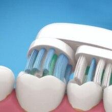 4 шт. сменные насадки для Oral B вращающийся тип сменные головки для электрической зубной щетки/Pro Health/Triumph/Advance power