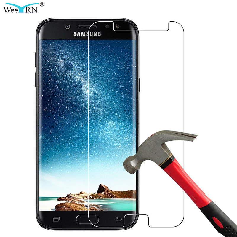 For Samsung J7 2017 Glass Tempered Screen Protective Glass For Samsung Galaxy J7 2017 9H Hardness Glass SM-J730F J730FM 2.5D